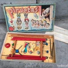 Juguetes antiguos: JUEGO DE MESA PIRUETAS Nº 2 ,DE JUGUETES BORRÁS CON INSTRUCCIONES Y CAJA ORIGINAL .. Lote 170878575