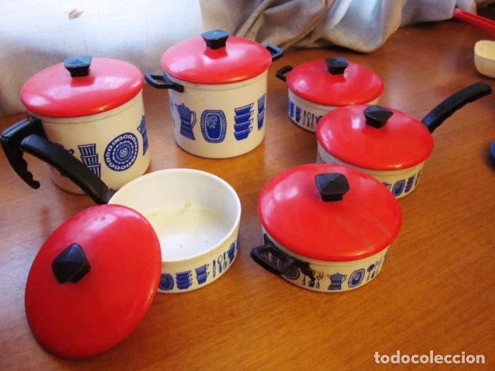 Juguetes antiguos: Antigua bateria o accesorios de cocina de juguete de plastico Pse - Foto 4 - 171103665