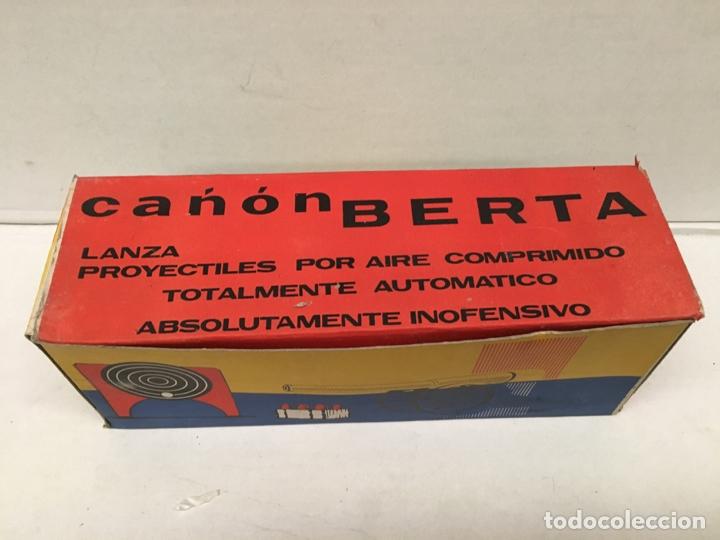 JUGUETE CAÑON BERTA AÑOS 60 (Juguetes - Marcas Clasicas - Otras Marcas)
