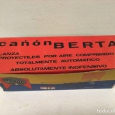 Giocattoli antichi: JUGUETE CAÑON BERTA AÑOS 60. Lote 228298725