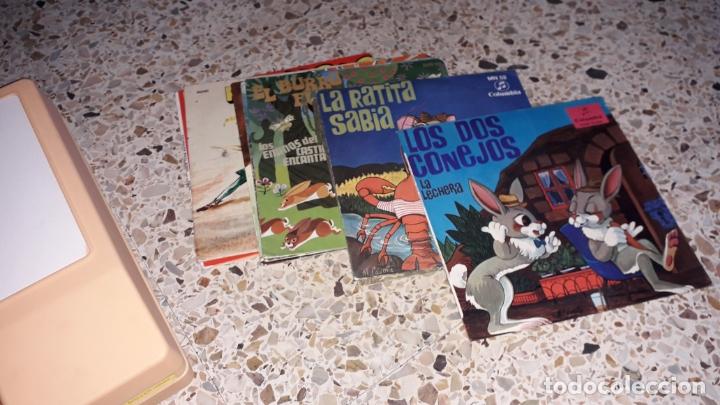 Juguetes antiguos: TOCADISCOS INFANTIL CON LOTE DE DISCO DE CUENTOS, JUGUETE ANTIUO, DISCOS CUENTOS - Foto 5 - 171360338
