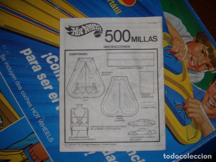 Juguetes antiguos: PISTA 500 MILLAS HOTWHEELS - Foto 10 - 171748194