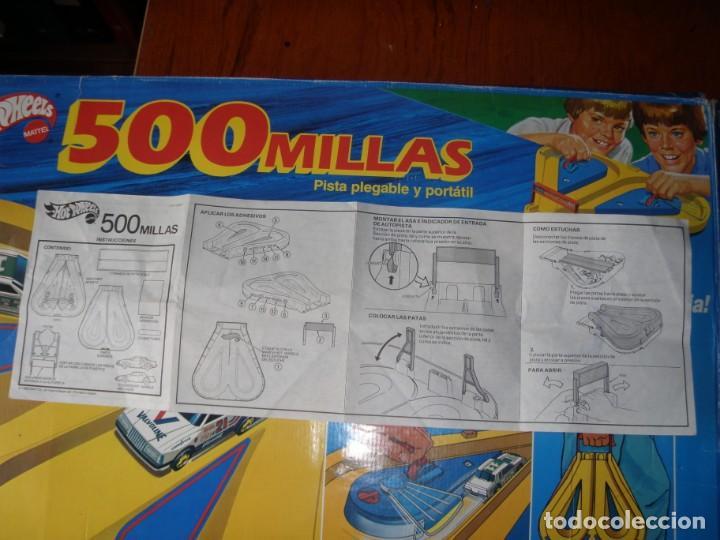 Juguetes antiguos: PISTA 500 MILLAS HOTWHEELS - Foto 12 - 171748194