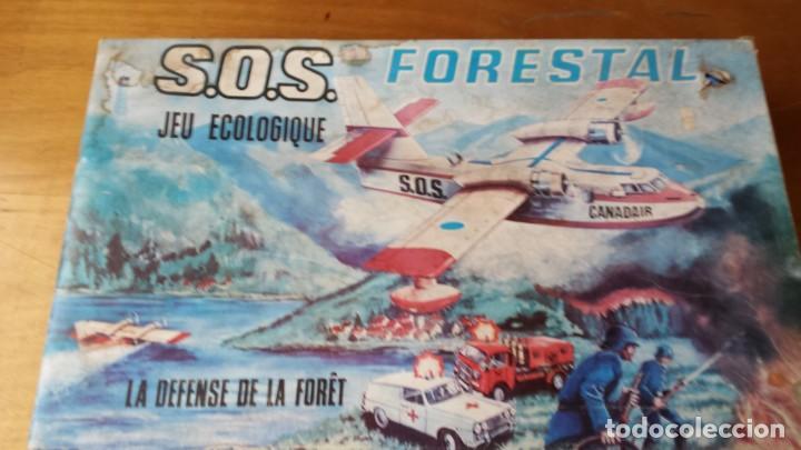 SOS FORESTAL JUGATI. EN SU CAJA. FUNCIONA (Juguetes - Marcas Clasicas - Otras Marcas)