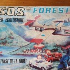 Juguetes antiguos: SOS FORESTAL JUGATI. EN SU CAJA. FUNCIONA. Lote 171969678