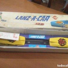 Juguetes antiguos: LANZ A CAR * LANZACAR * CONGOST ** EN CAJA ORIGINAL ** FUNCIONA CORRECTAMENTE. Lote 172010655