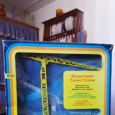 Juguetes antiguos: ANTIGUA GRUA SKYSCRAPER TOWER CRANE 1155 DE CORGI TOYS MAJOR. ORIGINAL EN CAJA. AÑO 1975.. Lote 217255382