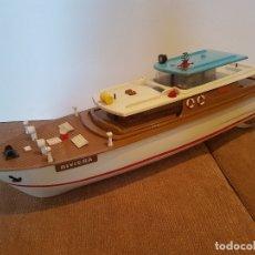 Brinquedos antigos: BARCO JEFE SALUDES - YATE RIVIERA. Lote 172416869