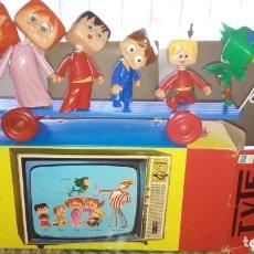 Juguetes antiguos: TELEVICENTES. TVE. SENDRA DENIA. RARO ARRASTRE AÑOS 70. A ESTRENAR!! CAJA ORIGINAL!! UNICO EN TC. Lote 172638473