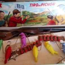 Juguetes antiguos: JUEGO DE TIRO DE PICHÓN DE JEFE SALUDES.. Lote 172740890