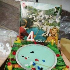 Juguetes antiguos: 4 PESCAN DE CONGOST. Lote 37400305