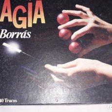 Juguetes antiguos: MAGIA BORRAS M-1 40 TRUCOS, JUEGO DE MAGIA, JUGUETE ANTIGUO . Lote 173812293