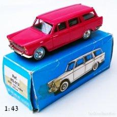 Juguetes antiguos: SCALE CARR RS 012 SEAT 1500 FAMILIAR BREAK. Lote 173999659