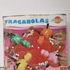Juguetes antiguos: TRAGABOLAS DE BREKAR EL ORIGINAL DE LOS 70 COMPLETO. Lote 174333568