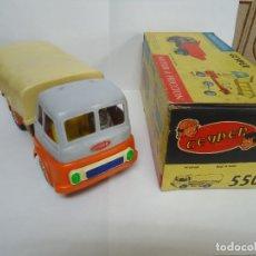 Brinquedos antigos: CAMION GEYPER EN SU CAJA ORIGINAL SIN USAR MODELO 550. ANTIGUO. --- 5. Lote 175648057