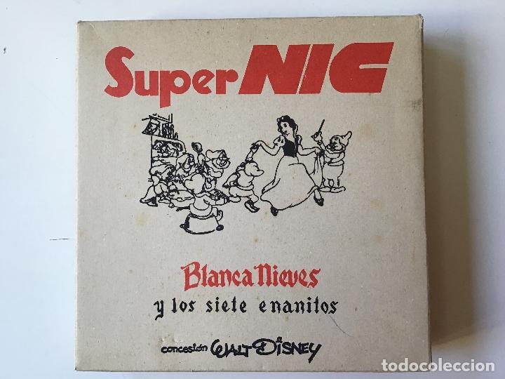 SUPER NIC, BLANCA NIEVES, ESTUCHE INCOMPLETO (Juguetes - Marcas Clasicas - Otras Marcas)