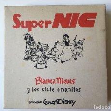 Giocattoli antichi: SUPER NIC, BLANCA NIEVES, ESTUCHE INCOMPLETO. Lote 175844797