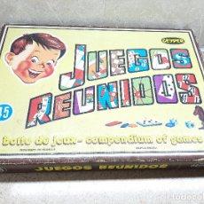 Juguetes antiguos: JUEGOS REUNIDOS GEYPER 45 ( COMPLETO ). Lote 175892754