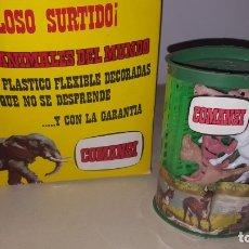 Juguetes antiguos: COMANSI ANIMALES DEL MUNDO FIGURAS DE PLASTICO FLEXIBLE. Lote 176209622