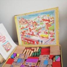 Juguetes antiguos: CONSTRUCCIONES URBIS DE GOULA REF. 193 CASTILLOS. CON CATALOGO. Lote 176772447