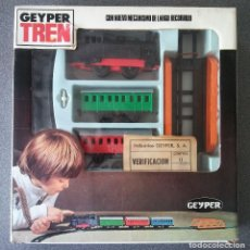 Juguetes antiguos: TREN GEYPER. Lote 176861130