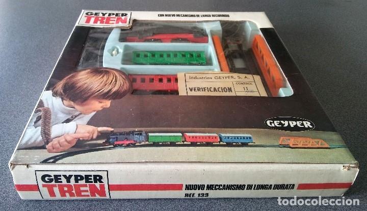 Juguetes antiguos: Tren Geyper - Foto 4 - 176861130