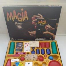 Juguetes antiguos: JUEGO DE MESA MAGIA BORRAS M-4/160 TRUCOS-SIMIL A CEFA,MB,EXIN.. Lote 177726049