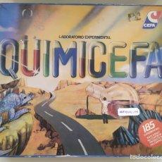 Juguetes antiguos: JUEGO MESA QUIMICEFA 185 EXPERIMENTOS DE CEFA-SIMIL A MB,HASBRO,GEYPER.. Lote 177742064