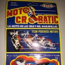 Juguetes antiguos: MOTOCROBATIC PILEN. Lote 178103515