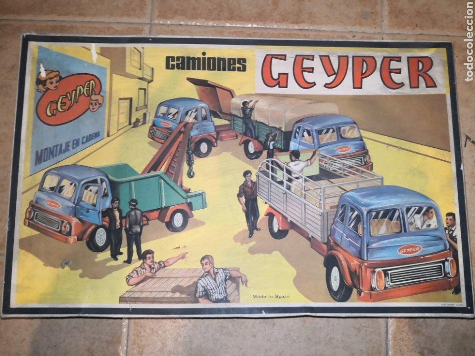 CAMIONES GEYPER (Juguetes - Marcas Clasicas - Otras Marcas)
