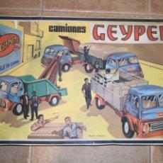 Juguetes antiguos: CAMIONES GEYPER. Lote 178651078