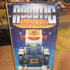 Juguetes antiguos: ROBOT MOLTÓ COMPLETO. Lote 178651416