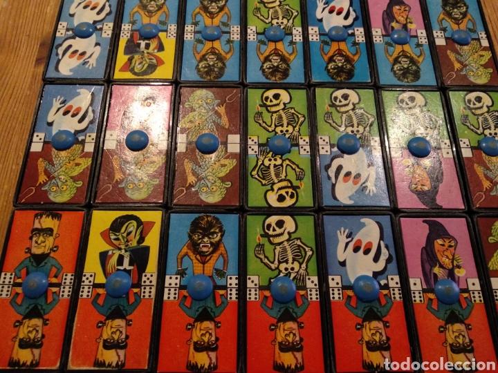 Juguetes antiguos: DOMINÓ MONSTRUOS AIRGAN - Foto 5 - 178669048