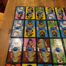 Juguetes antiguos: DOMINÓ MONSTRUOS AIRGAN. Lote 178669048