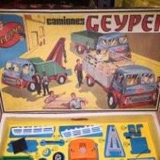 Juguetes antiguos: CAMIÓNES GEYPER DESMONTABLE REF 501. Lote 178754221