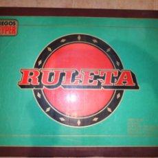 Juguetes antiguos: RULETA GEYPER AÑOS 70. Lote 178759267