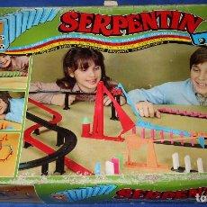 Juguetes antiguos: SERPENTIN - AIRGAM ¡CON TRES NIVELES DE PIEZAS COMPLETOS!. Lote 179335636