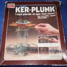 Juguetes antiguos: KER-PLUNK - JUEGOS GEYPER - REF. 735. Lote 179337165