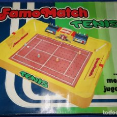 Juguetes antiguos: FAMOMATCH - TENIS - FAMOSA ¡COMPLETO!. Lote 179337935