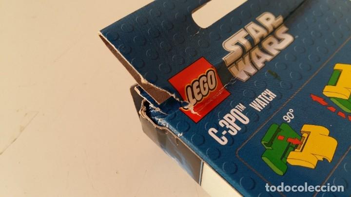 Juguetes antiguos: LEGO STAR WARS RELOJ PARA NIÑOS DESMONTABLE TRAE A 3PO EN MUÑECO LEGO VER FOTOS SIN USO - Foto 13 - 180208430