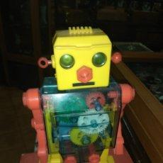 Juguetes antiguos: ANTIGUO ROBOT ESPACIAL MECÁNICO LEMSSA - AÑOS 70 -. Lote 180426935