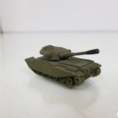 Brinquedos antigos: GUISVAL CENTURIÓN MK3 VERDE FABRICADO EN ESPAÑA TANQUE 7 CM. Lote 180469627