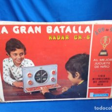 Juguetes antiguos: ANTIGUO JUEGO LA GRAN BATALLA RADAR GR-6 DE JUGUETES GRACIA AÑOS 70 LEER DESCRIPCION! SM. Lote 180504962