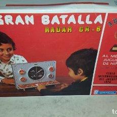 Juguetes antiguos: JUEGO LA GRAN BATALLA DE GRACIA . Lote 181090403
