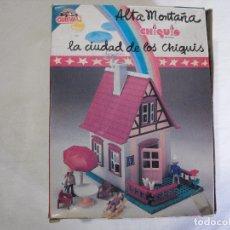 Juguetes antiguos: CASA DE ALTA MONTAÑA. GUISVAL CHIQUIS.. COMPLETA.. Lote 181860343