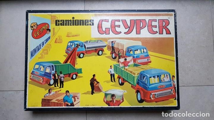 CAMIONES GEYPER. CAJA GRANDE. REF. 504. COMPLETO (Juguetes - Marcas Clasicas - Otras Marcas)