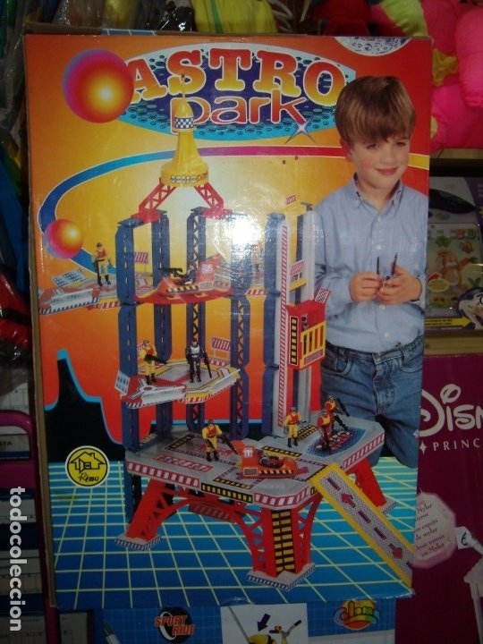 Juguetes antiguos: Rima Astro Park, años 80, Nuevo sin abrir. - Foto 6 - 70700093