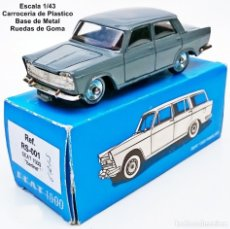 Juguetes antiguos: SCALE CARR REF RS-001 SEAT 1500 BERLINA. Lote 182660315