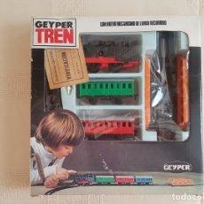 Juguetes antiguos: GEYPER TREN. Lote 182744023