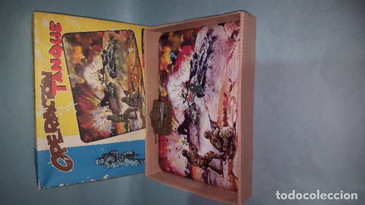 Juguetes antiguos: PISTA MECANICA TANQUE DE GEYPER - Foto 5 - 183485703